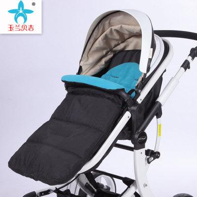 Xe đẩy trẻ em Xe đẩy em bé che chân Phổ quát xe đẩy em bé không thấm nước che chân dày bé pad chống
