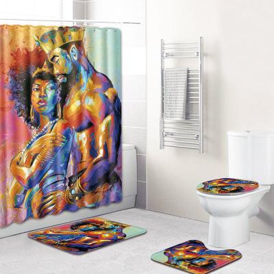 DILA Đệm chống trơn Đàn ông và phụ nữ Mỹ gốc Phi xuyên biên giới bán phòng tắm nóng chống trượt thảm