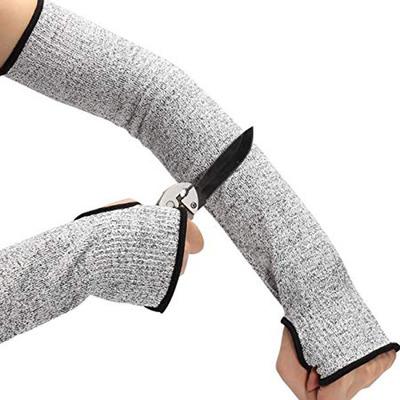 Găng tay chống cắt  Nhà máy trực tiếp nhà máy thủy tinh công nhân bảo vệ cánh tay cắt chống tùy chỉn