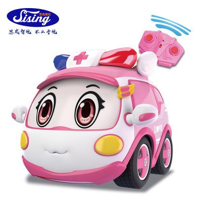 xe đồ chơi cảnh sát liên minh trẻ em mới với điều khiển từ xa
