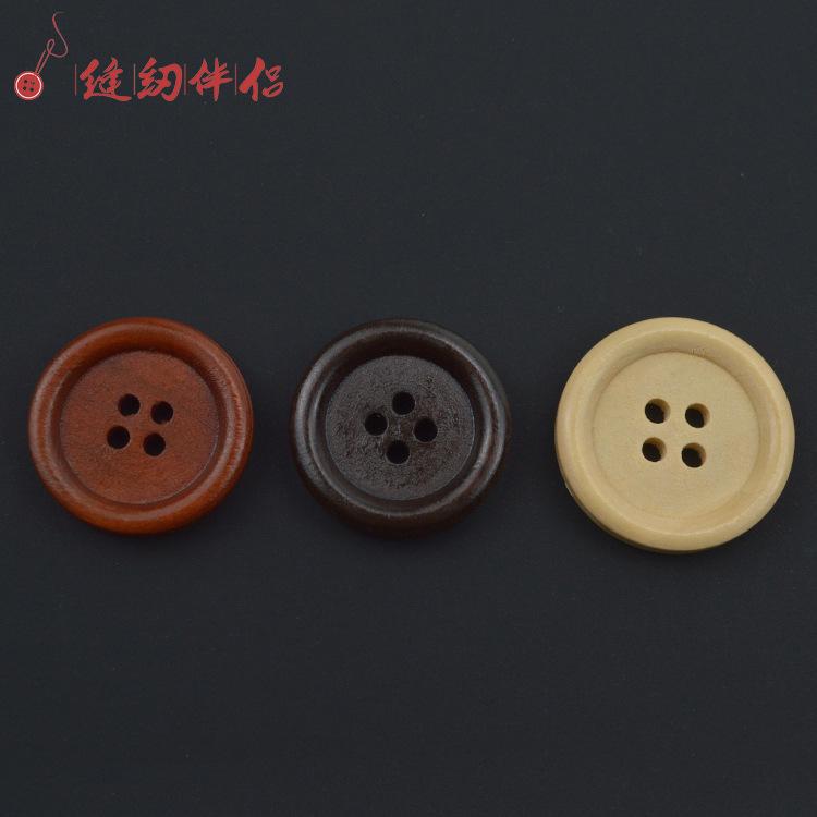 JUNHE Nút Gỗ tự nhiên khóa gỗ nút bên tốt bốn mắt màu đỏ đen màu nâu nút gỗ màu