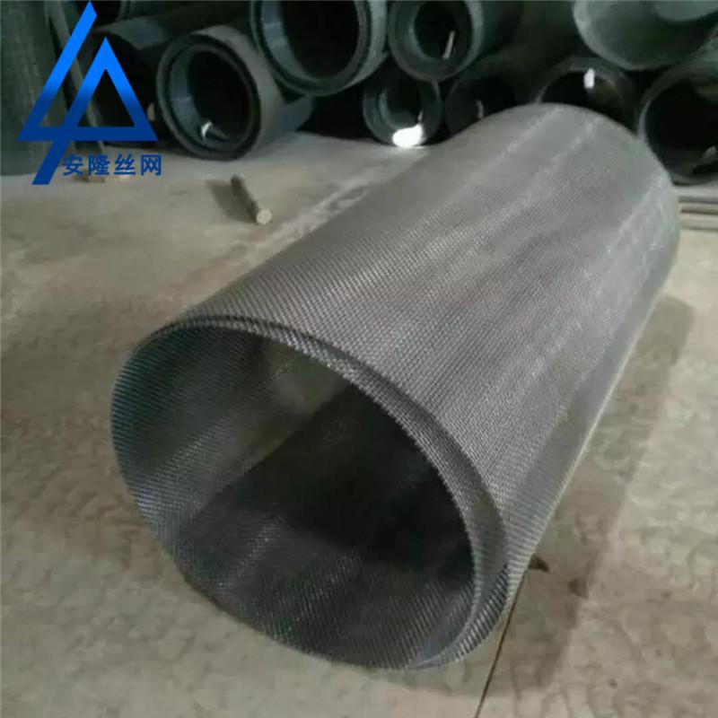 ANLONG Lưới kim loại Nhà sản xuất thép không gỉ Crimped Net Pig Lưới Kim loại Dệt lưới Mangan Thép m