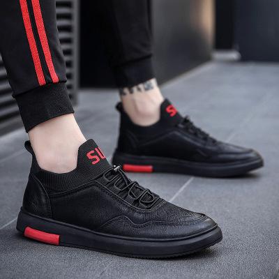 Giày mọi đế thấp Giày dép nam Chaoyang mùa xuân và mùa thu mới, giày nam thời trang hoang dã mang xu