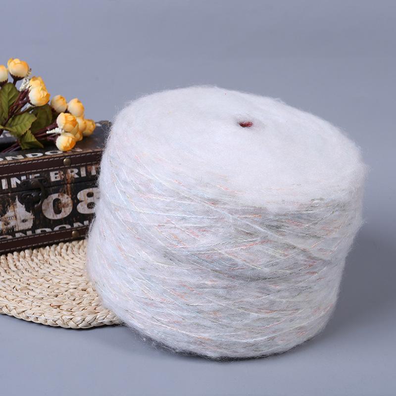 Sợi Fancy Bán nóng 3,5 đèn lồng polyester-nitrile, mohair, mohair, sợi, mũ, mohair, sợi đặc biệt