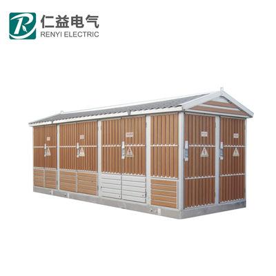 Trạm biến áp điện Chuyển đổi nhà sản xuất tủ ngoài trời trạm biến áp đúc sẵn (châu Âu) trạm biến áp