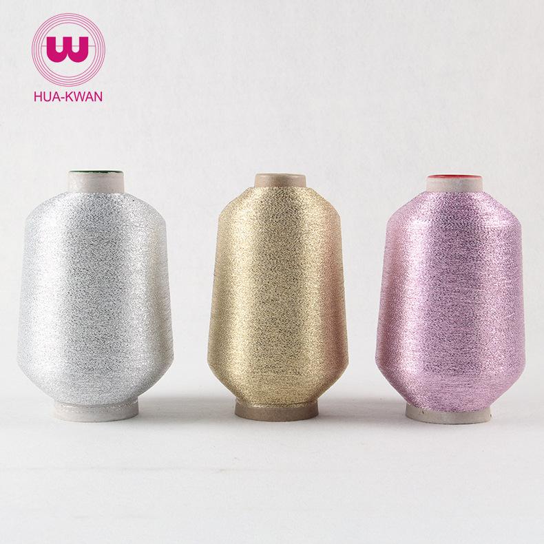 HUAGUANG Chỉ thêu Dây vàng và bạc Huaguang Đài Loan loại đơn và dây bạc có thể được nhuộm tùy ý bằng