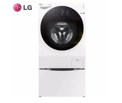 LG Máy giặt Máy giặt LG Hàn Quốc nhập khẩu hơi nước hoàn toàn tự động con lăn máy giặt hai trong một
