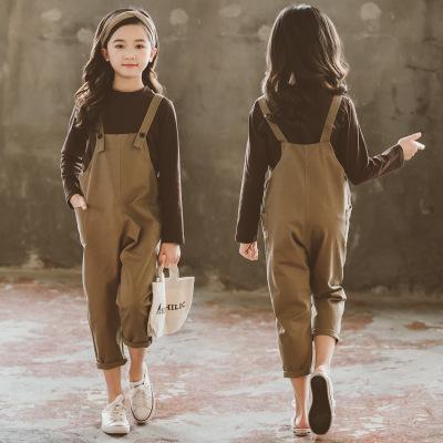 Đồ Suits trẻ em Trẻ em mùa xuân và mùa thu Phiên bản Hàn Quốc của trẻ em nước ngoài lớn hai cô gái t