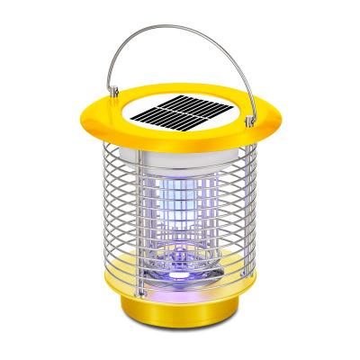 Đèn diệt muỗi  Ánh sáng mặt trời di động Muỗi điện ngoài trời Sốc điện di động LED điện tử gia dụng