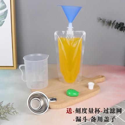 PAMPAS  Túi đứn Y học cổ truyền Trung Quốc đóng gói chất lỏng túi takeaway bao bì túi trong suốt tự