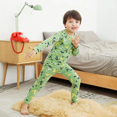 Thị trường trang phục trẻ em 19 mẫu mùa thu trẻ em lớn Lycra phù hợp với quần áo mùa thu quần dài ph