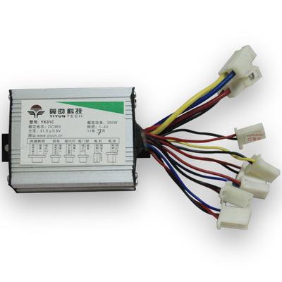 Mạch bo Cánh 24,336V48V500W controller bộ điều khiển bàn chải điều khiển dòng mở rộng Bộ điều khiển
