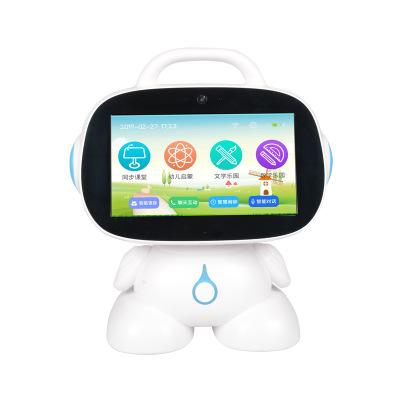 Máy học ngoại ngữ Robot 9 inch trẻ em thông minh giáo dục sớm máy học video đối thoại sẽ nhảy giáo v