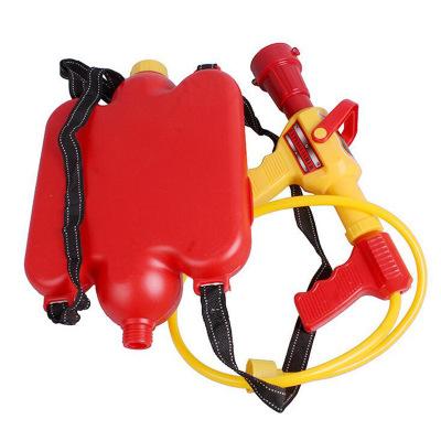 Đầu vòi chữa cháy Trẻ em chơi trò chơi bãi biển Lửa ba lô súng nước loại bỏ áp lực súng Mùa hè mùa h