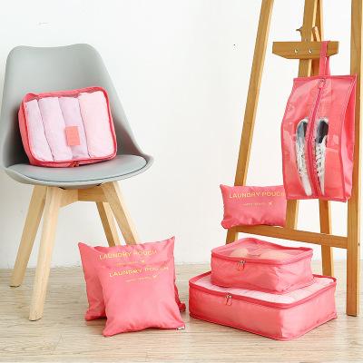 VaLi hành lý MUNI bán buôn du lịch Hàn Quốc lưu trữ bảy mảnh quần áo hành lý không thấm nước hoàn th
