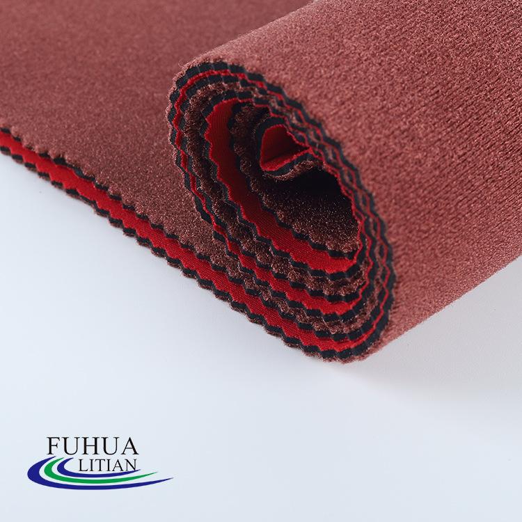 LITIAN Vải dệt kim Nhà máy trực tiếp OK vải lặn vật liệu SBR polyester composite đan vải túi xách th