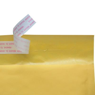 bao thư chống sốc Giấy kraft màu vàng phong bì bong bóng xem bong bóng túi nhanh gói bưu chính bao