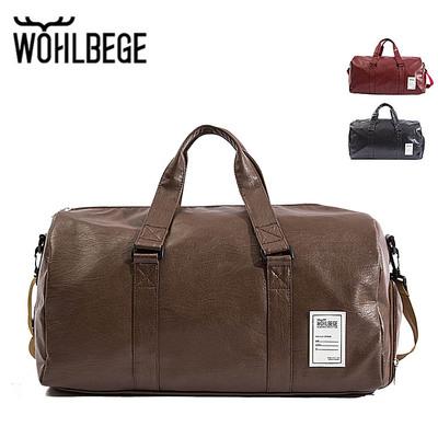 Túi xách du lịch Mới túi du lịch xuyên biên giới túi thể dục nam tùy chỉnh LOGO túi xách chống nước