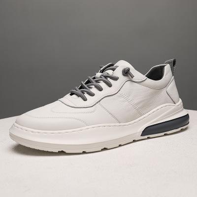 Giày trắng nữ Giày nam mùa thu 2019 giày trắng mới Giày da nam mùa xuân và mùa hè thể thao hoang dã