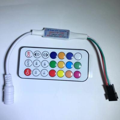 Mạch bo Bộ điều khiển mini RF21KEY WS2811WS2812SK6812 Bộ điều khiển 5V Bộ điều khiển đèn thần kỳ 12V