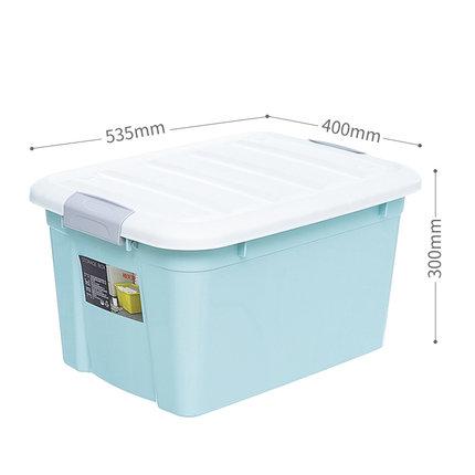 Citylong  Thùng nhựa  ba hộp lưu trữ nhựa gia dụng ký túc xá sinh viên sách lưu trữ quần áo hộp lưu