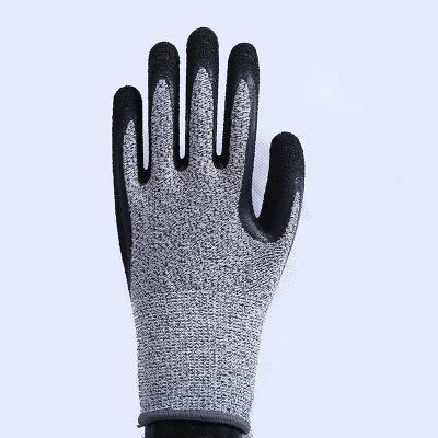 Găng tay chống cắt  Găng tay làm vườn sân vườn latex 5 găng tay chống dầu và axit giết mổ lao động b
