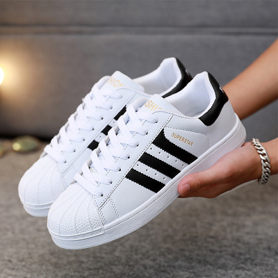 Giày trắng nữ Giày nam, giày, mùa xuân và mùa thu, xu hướng thoáng khí, giày trắng nhỏ, giày đôi, na