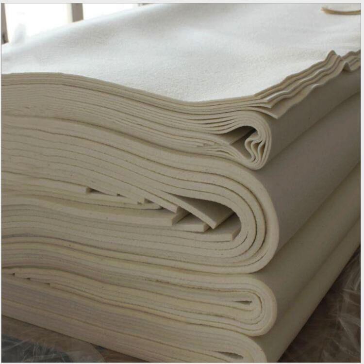 XINGBANG thảm lông Len màu tùy chỉnh cảm thấy nhiệt độ cao niêm phong pha trộn cảm thấy công nghiệp