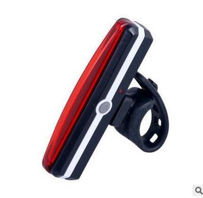 Đèn xe Đèn hậu xe đạp xuyên biên giới 2266 Sạc USB Đèn hậu COMET nhấp nháy đèn cảnh báo đèn pha xe đ