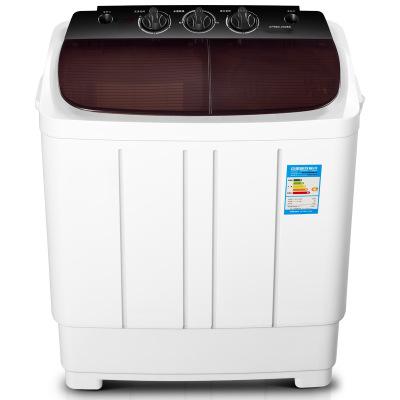 Máy giặt thùng đôi Máy giặt 6.0kg kg thùng đôi xi lanh đôi bán tự động song song máy giặt hộ gia đìn