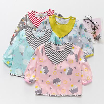 PANPAN TREE Áo khoác Mùa thu và mùa đông trẻ em mới smock cotton chống thấm nước áo chống quần áo ch