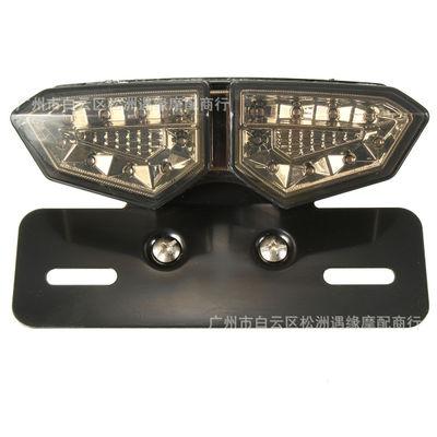 Đèn xe Phụ kiện xe máy Harley Cruise Prince xe sửa đổi retro đèn hậu LED phổ biến tấm giấy phép phan