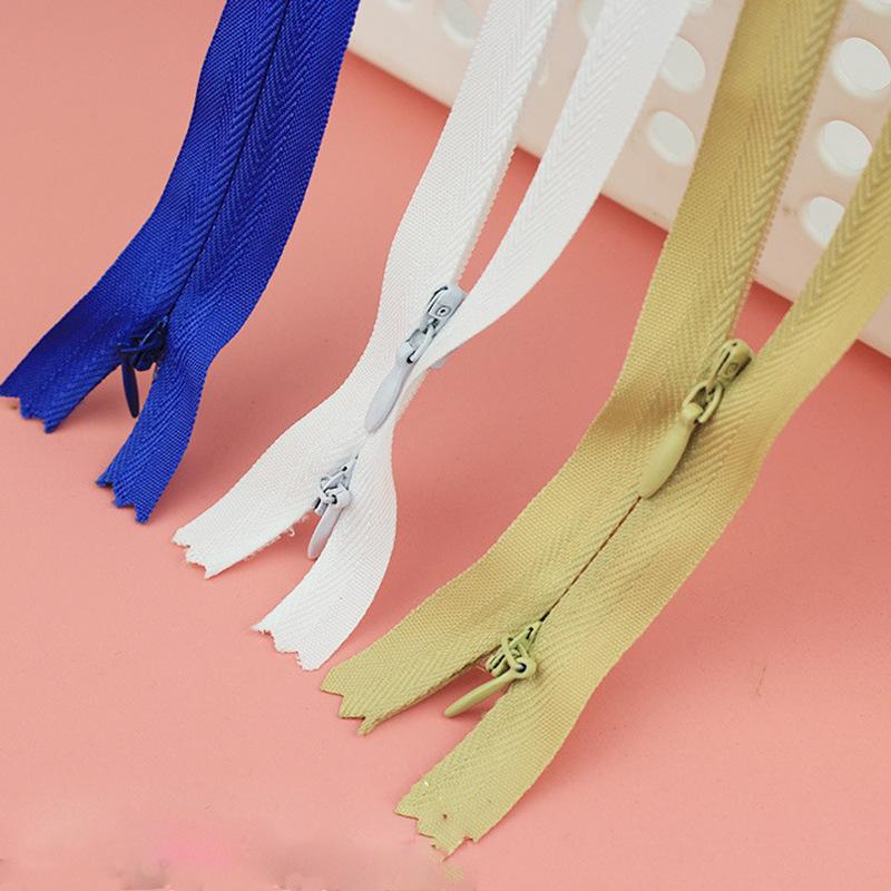 RANHE Dây kéo Nylon 3 # Dây kéo hai đầu vô hình Quần áo cho con bú Dây kéo cho con bú Dây kéo vải ny