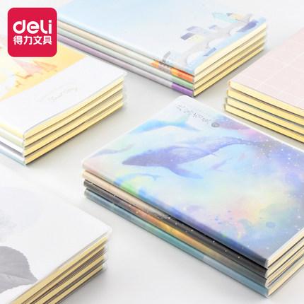 Deli Sổ tay  Máy tính xách tay hiệu quả văn phòng phẩm Sổ tay thanh toán sổ sách Hàn Quốc đơn giản n
