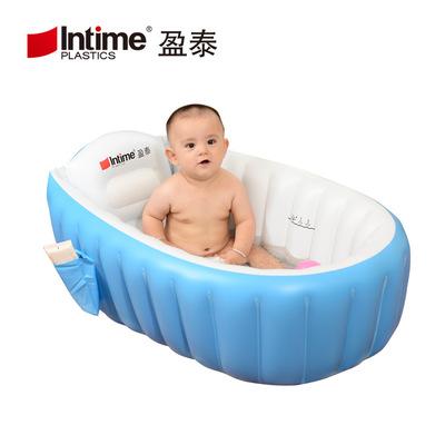 intime bể bơi trẻ sơ sinh Nhà máy trực tiếp hàng hóa xuyên biên giới Yingtai bé bơm hơi gấp bồn tắm