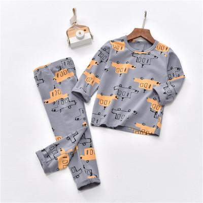 Đồ Suits trẻ em Quần áo trẻ em 2018 phù hợp với quần áo trẻ em trong bộ Lycra dành cho trẻ em in đầy