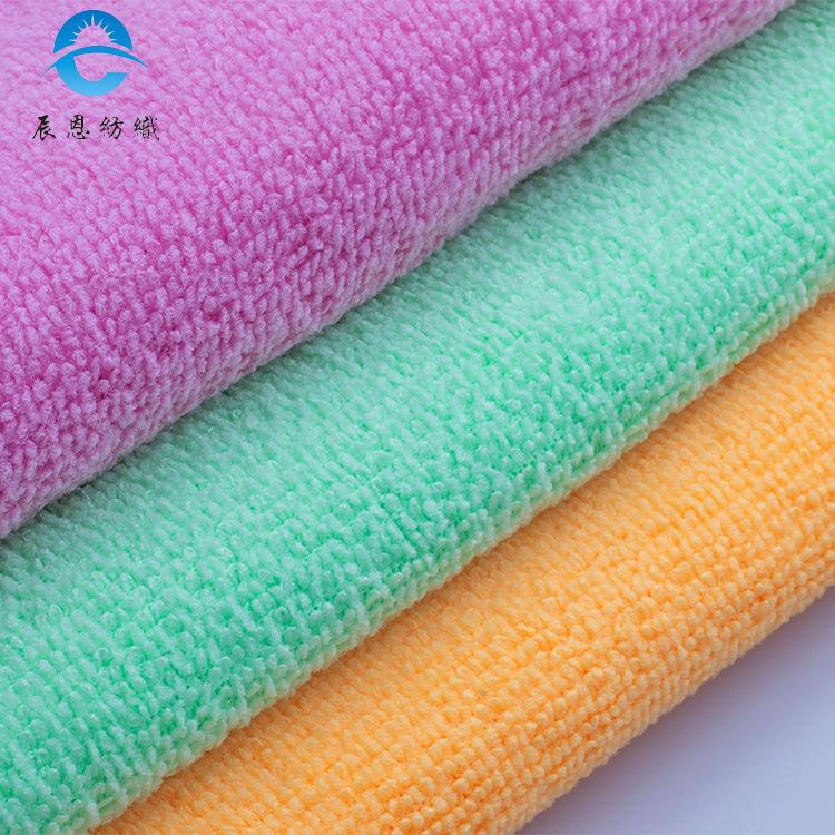 CHENEN Vải khăn lông Vải thấm nước Vải sợi nhỏ Vải polyester hai mặt Khăn tắm nhà bếp và các loại vả