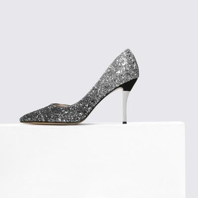 Giày GuangDong 2019 mới nhỏ c k giày nữ cao gót thay cho một đại lý nóng