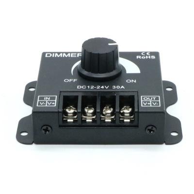 Mạch bo Đèn led 30A 12V với công tắc điều chỉnh độ sáng mờ mờ công tắc đèn thanh với bộ điều khiển đ