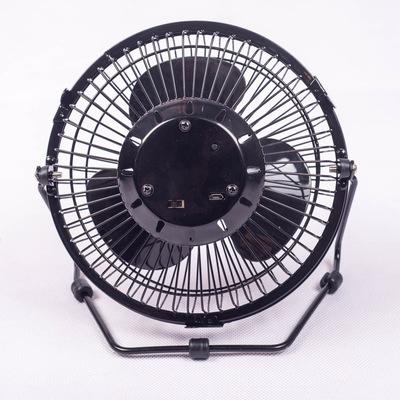Quạt máy Quạt đồng hồ nhỏ 6 inch mùa hè mới với nhiệt độ đồng hồ Quạt mini USB có sẵn tại nhà