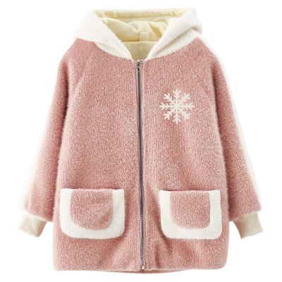 Áo khoác trẻ em Trẻ em mặc một thế hệ của các cô gái mới mùa đông 2019 Phiên bản Hàn Quốc của áo kho