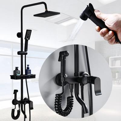 LUOSEN vòi hoa sen Nhà máy trực tiếp tất cả đồng tắm vòi sen châu Âu đặt vòi tắm hộ gia đình chậu rử