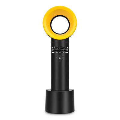 Quạt máy Hàn Quốc zero9 cầm tay mini không lá nhỏ Quạt sạc USB máy tính để bàn di động lắc đầu quạt