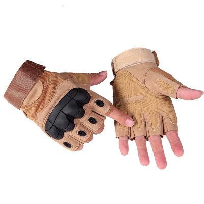Găng tay bảo hộ Một thế hệ leo núi thể dục thể thao vỏ mềm thể thao găng tay nửa ngón tay ngoài trời