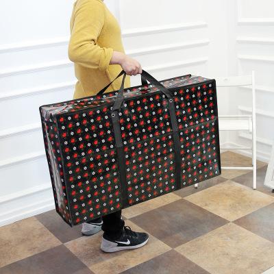 Túi xách du lịch Dày thêm lớn không dệt túi di chuyển quilt lưu trữ túi duffel không thấm nước di độ