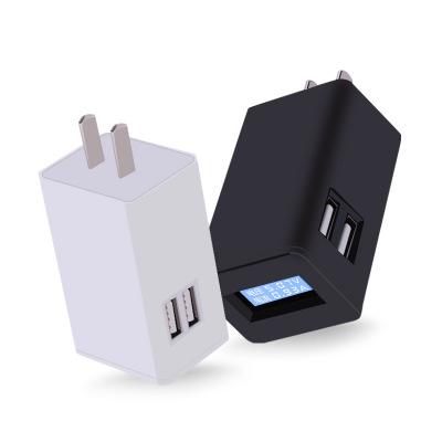 Đầu cắm sạc Bộ sạc điện thoại di động 5V2.4A Bộ sạc nguồn 3c được chứng nhận điện áp USB và màn hình