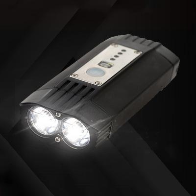 Đèn pha 2 đèn dành cho xe đạp leo núi .