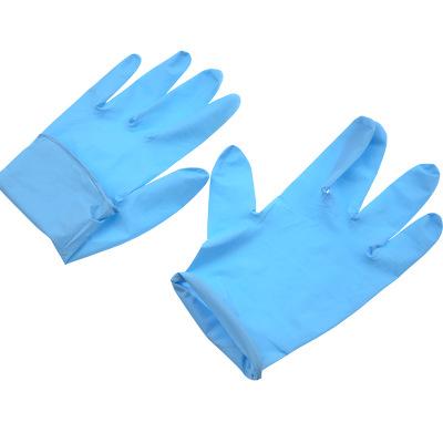 Găng tay chống cắt  Oak dùng một lần găng tay nitrile chống mòn công nghiệp cao su dày chống trượt m