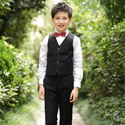 Thị trường trang phục trẻ em Chàng trai mặc vest chàng trai đặt hoa cô gái chủ nhà vest trẻ em phù h