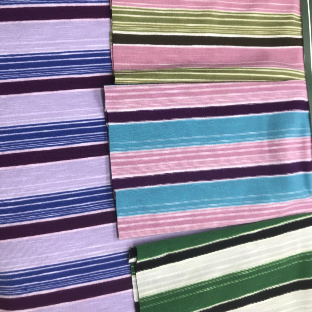 XIALANG Vải pha sợi Vải dệt thoi nhiều màu sọc mới 2019